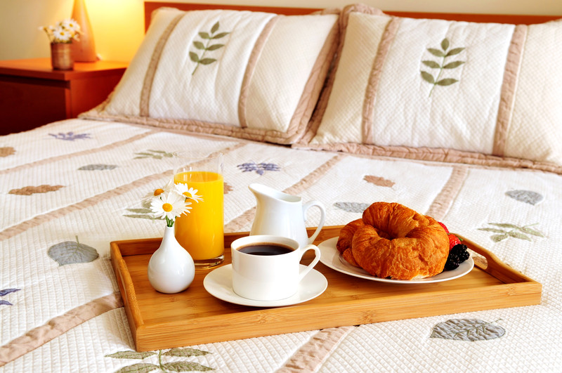 Bed and breakfasting